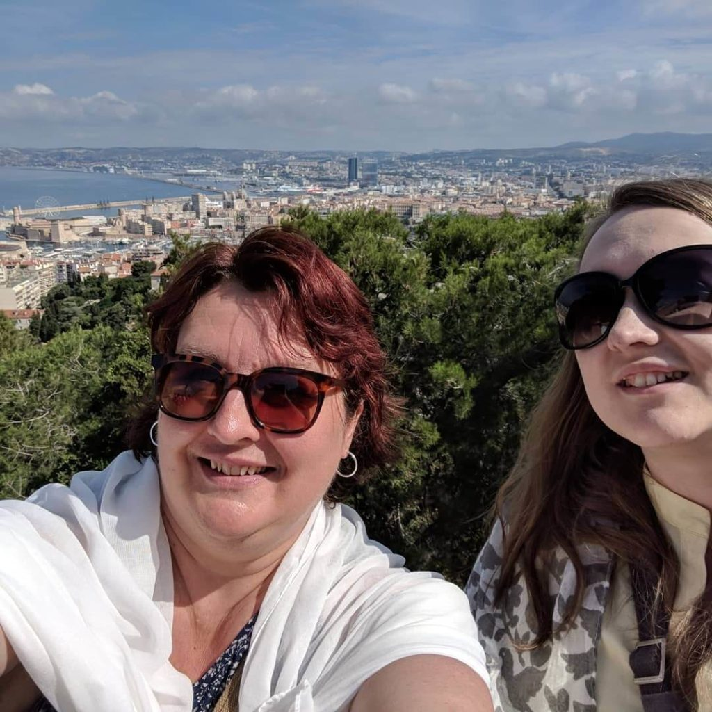 My daughter & I in Marseilles, France!