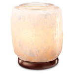 White Himalayan Salt Warmer